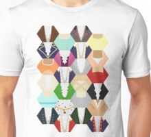 Costume Patchwork   Hamtilton Unisex T-Shirt
