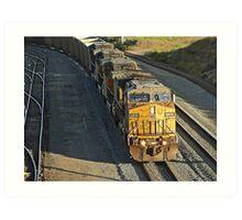 Union Pacific # 6806 at West Colton Art Print