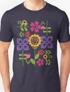 Floral Frenzy Unisex T-Shirt