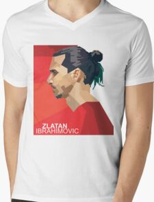 IBRAHIMOVIC Mens V-Neck T-Shirt