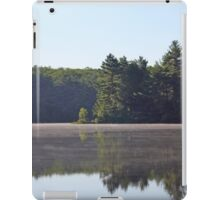 Misty Over Pond iPad Case/Skin