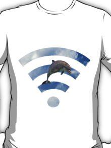 Dolphin wifi T-Shirt