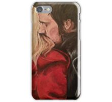 The hug that never was iPhone Case/Skin