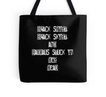 Blink 182 She's Out of her Mind Tote Bag