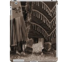 Waiting for the dance iPad Case/Skin