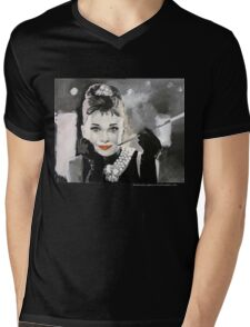 Audrey Mens V-Neck T-Shirt