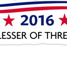 Voldemort for President Sticker
