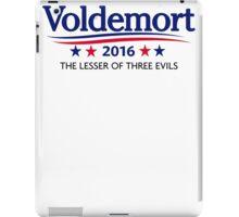 Voldemort for President iPad Case/Skin