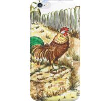 King Rooster iPhone Case/Skin