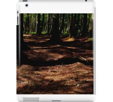 Shadows in the woods iPad Case/Skin