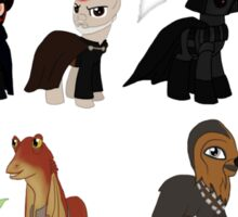 Star Wars Ponies Sticker