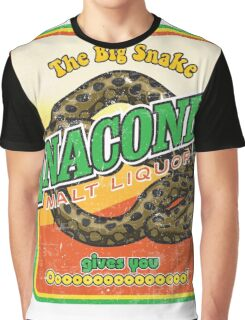Anaconda Malt Liquor Graphic T-Shirt
