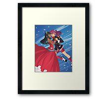 Yu-Gi-Oh! - Yuzu & Masumi Framed Print