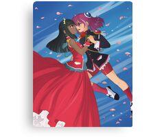 Yu-Gi-Oh! - Yuzu & Masumi Canvas Print