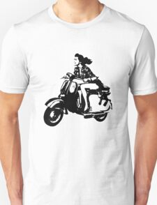 Scooter Girl Unisex T-Shirt
