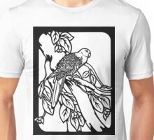 Parrot Plate  Unisex T-Shirt