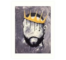 Naturally King Art Print