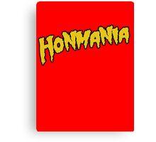 HonMania Yellow Canvas Print
