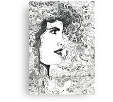 Vision On [Original Pen drawing] Canvas Print