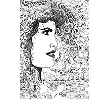 Vision On [Original Pen drawing] Photographic Print