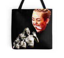 Attack of the creepy tongue Tote Bag