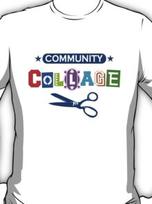 Community Collage Art College Pun T-Shirt