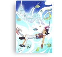 Yu-Gi-Oh! - Yuma & Astral Canvas Print
