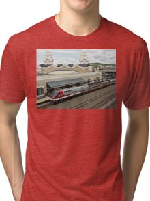 Amtrak Veterans Unit # 42 at Worcester Tri-blend T-Shirt