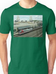 Amtrak Veterans Unit # 42 at Worcester Unisex T-Shirt