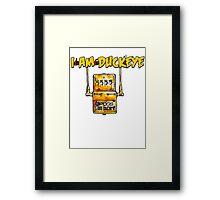 """""""POG PEDAL"""" - I am Duckeye Framed Print"""