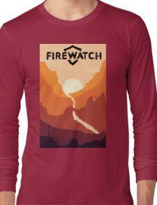 Firewatch horizion with logo Long Sleeve T-Shirt