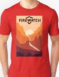 Firewatch horizion with logo Unisex T-Shirt