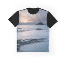 Haukland Sunset Graphic T-Shirt