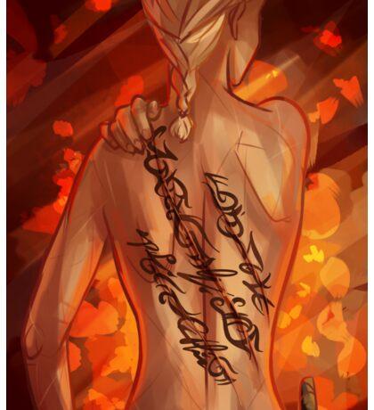 Scars - Aelin Sticker