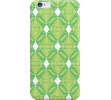 Abstract Green Emeralds iPhone Case/Skin