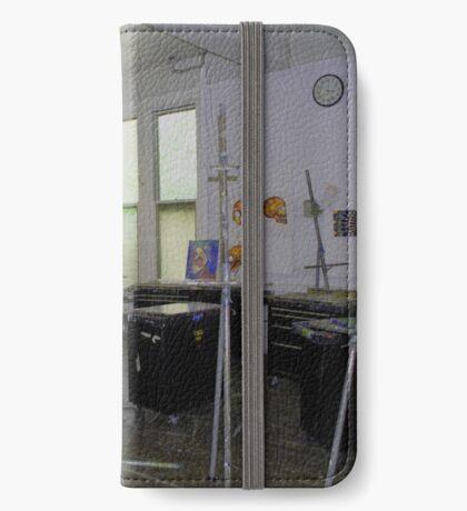 Easel Blues iPhone Wallet/Case/Skin