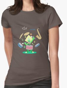 Peridot's one gem band Womens Fitted T-Shirt