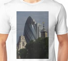 The Gherkin, The Tower & 10 Trinity Square Unisex T-Shirt