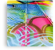 Teneo Mural Pink Scales Canvas Print