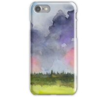 Pink Clouds Landscape iPhone Case/Skin