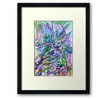 Purple Rainforest Framed Print