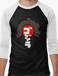 Godzilla: Infographic T-shirt Men's Baseball ¾ T-Shirt