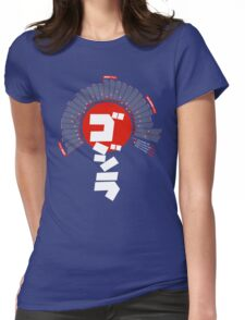 Godzilla: Infographic T-shirt Womens Fitted T-Shirt