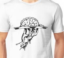 Brain On a Platter Ink Unisex T-Shirt