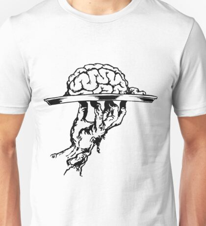 Brain On a Platter Ink Unisex T-Shirt