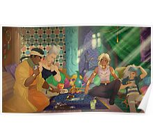 Jojo's Bizarre Adventures x Yu-Gi-Oh! - crossover Poster