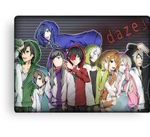 「D A Z E」 Canvas Print