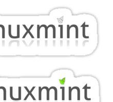 linux mint stickers set Sticker