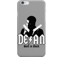 Back in Black iPhone Case/Skin