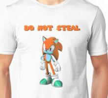 My Original Sonic Character - Do Not Steal Unisex T-Shirt